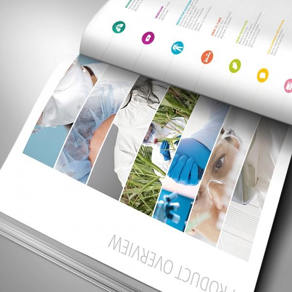 Katalogdesign Für Dach Schutzbekleidung