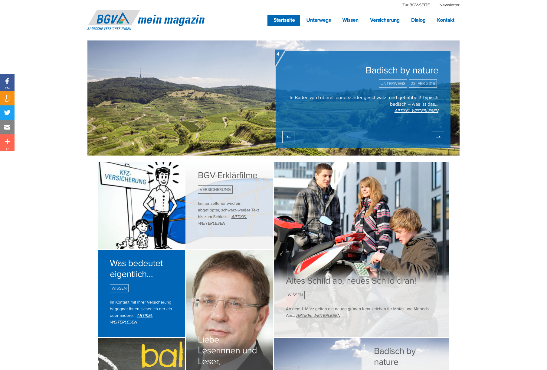 "KRAFTJUNGS launcht das ""BGV mein magazin"""